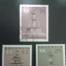 Sellos: SELLOS DE AUSTRIA. YVERT 1211/13. SERIE COMPLETA USADA.. Lote 53024256