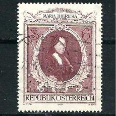 Sellos: YT 1469 AUSTRIA 1980. Lote 115331308