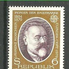 Sellos: YT 1437 AUSTRIA 1979. Lote 115331508