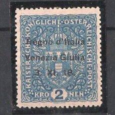 Sellos: VENECIA GIULIA 1919 SELLO DE AUSTRIA DE 1916-18 CON SOBRECARGA. Lote 58391307