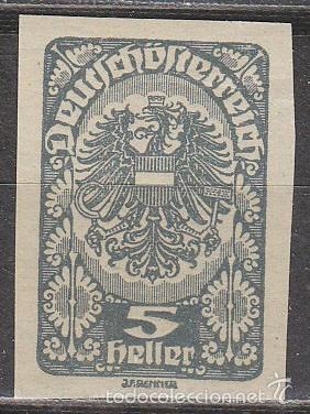AUSTRIA IVERT 207, ESCUDO, NUEVO *** SIN DENTAR (Sellos - Extranjero - Europa - Austria)