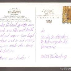 Sellos: POSTAL CON SELLO USADO DE AUSTRIA 2002. Lote 64026955
