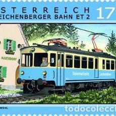 Timbres: AUSTRIA 2016 - EISENBAHNEN - GLEICHENBERGER BAHN MNH. Lote 64034119