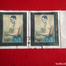 Francobolli: AUSTRIA. 2351 DEPORTE: MAX SCHMELING EN PAREJA. 2005. SELLOS USADOS Y NUMERACIÓN YVERT. Lote 64046567