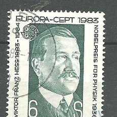 Sellos: YT 1572 AUSTRIA 1983. Lote 151227846