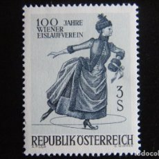 Sellos: AUSTRIA. SERIE COMPLETA. NUEVA MNH**. YVERT Nº 1066. 1967. DEPROTES.. Lote 201299045