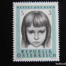 Sellos: AUSTRIA. SERIE COMPLETA. NUEVA MNH**. YVERT Nº 1053. 1966.. Lote 201298808