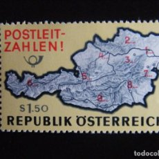 Sellos: AUSTRIA. SERIE COMPLETA. NUEVA MNH**. YVERT Nº 1036. 1966. . Lote 71459323