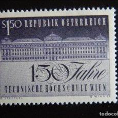 Sellos: AUSTRIA. SERIE COMPLETA. NUEVA MNH**. YVERT Nº 1033. 1965.. Lote 201298587