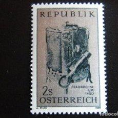 Sellos: AUSTRIA. SERIE COMPLETA. NUEVA MNH**. YVERT Nº 1139. 1969. . Lote 71460327