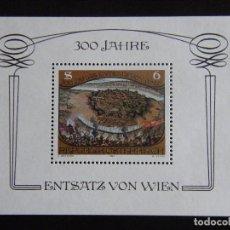 Sellos: AUSTRIA. HOJA BLOQUE. NUEVA MNH** . YVERT Nº 11. 1983. . Lote 71461663