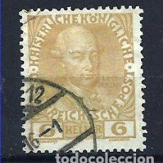 Sellos: YT 105 AUSTRIA 1908. Lote 115328300