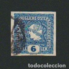 Sellos: AUSTRIA.SELLO PARA PRENSA (6 H ).1916. Lote 74984127