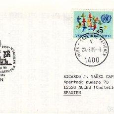Sellos: SOBRE: 1989 AUSTRIA. Lote 76823299