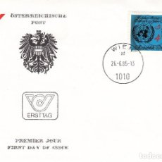 Sellos: SOBRE: 1985 AUSTRIA. Lote 76908431
