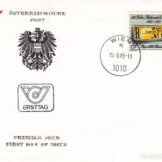 Sellos: SOBRE: 1985 AUSTRIA. Lote 76908471