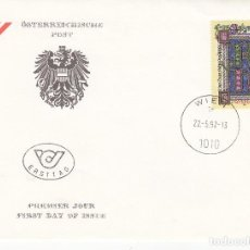 Sellos: SOBRE: 1992 AUSTRIA. Lote 76908491