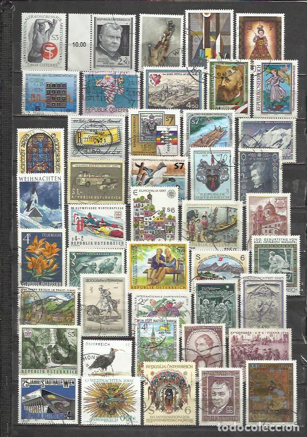G183-LOTE SELLOS AUSTRIA SIN TASAR,ANTIGUOS,MODERNO,SIN TASAR,IMAGEN REAL,BONITOS.ALTO VALOR EN CONJ (Sellos - Extranjero - Europa - Austria)