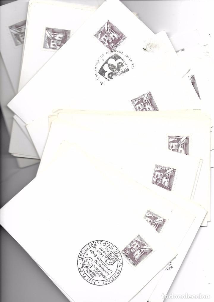 Sellos: Austria. 63 tarjetas con matasellos especiales - Foto 2 - 85532916