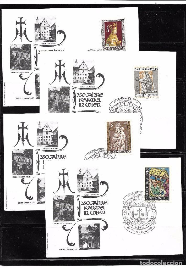 AUSTRIA. CONJUNTO DE 9 PIEZAS DE HISTORIA POSTAL (Sellos - Extranjero - Europa - Austria)