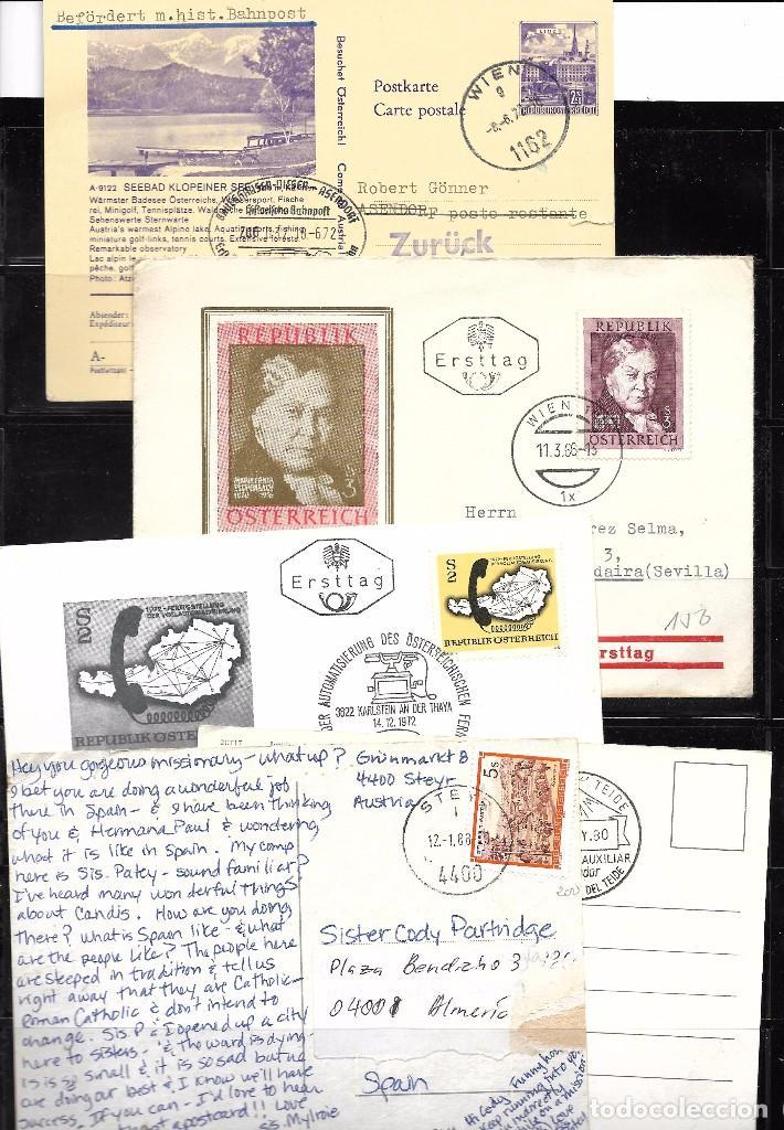 Sellos: Austria. Conjunto de 9 Piezas de Historia Postal - Foto 2 - 85540464