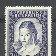 Timbres: AUSTRIA - 1952 - MICHEL 976** MNH. Lote 86085716