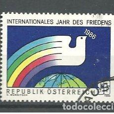 Sellos: YT 1665 AUSTRIA 1986. Lote 161459986