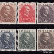 Sellos: 1930 YVERT Nº 393 / 398 MH . Lote 95234191