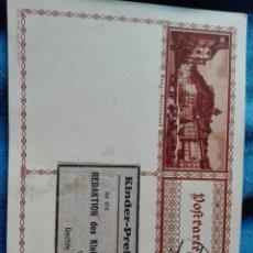 Sellos: ENTERO POSTAL AUSTRIA 1932 CIRCULADA. Lote 98704039