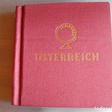 Sellos: ALBÚM DE SELLOS DE AUSTRIA. AÑOS 1890-1980 INCOMPLETOS. ALBÚM SCHAUBER. VER FOTOS. Lote 98956891