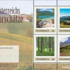 Sellos: AUSTRIA 2017 - MARKEN EDITION 4 ÖSTERREICHS NATURSCHÄTZE. Lote 109572623