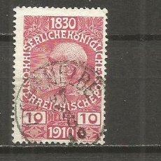 Sellos: AUSTRIA YVERT NUM. 124 USADO. Lote 118581451