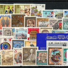 Sellos: AUSTRIA 1987, AÑO COMPLETO, MNH-SC. Lote 128531303