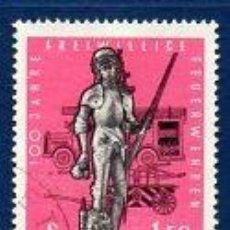 Sellos: AUSTRIA.- CATÁLOGO YVERT Nº 969, SERIE COMPLETA EN USADO. Lote 131617694