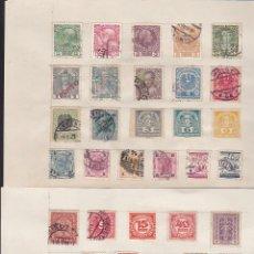 Sellos: LOTE DE 32 SELLOS ANTIGUOS DE AUSTRIA CON CHARNELA . Lote 140865714