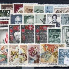 Sellos: AUSTRIA AÑO 1968 YV 955B (BÁSICA) + 1090/13 + A 63/65*** (CORREO AEREO) AÑO COMPLETO NUEVO -- MNH --. Lote 142475254
