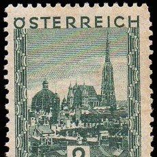 Sellos: SELLO AUSTRIA MONUMENTS OSTERREICH 2S 1929 NUEVO CON CHARNELA COLECCIONISMO. Lote 144544290