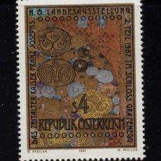 Sellos: AUSTRIA 1711** - AÑO 1987 - EXPOSICION LA EPOCA DEL EMPERADOR FRANCISCO JOSE. Lote 150393330