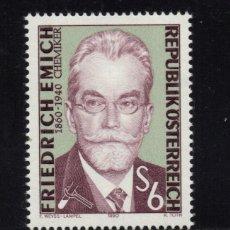 Sellos: AUSTRIA 1810** - AÑO 1990 - 50º ANIVERSARIO DE LA MUERTE DE FRIEDRICH EMICH. Lote 150403918