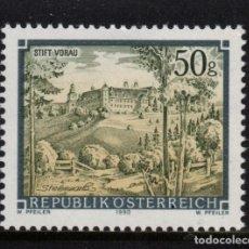 Sellos: AUSTRIA 1835** - AÑO 1990 - ABADIAS Y MONASTERIOS. Lote 150406590