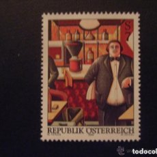 Sellos: AUSTRIA 1999 IVERT 2126 *** ARTE MODERNO EN AUSTRIA - PINTURA DE WOLFGANG HERZIG. Lote 155264218
