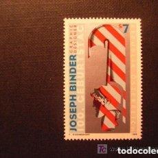 Sellos: AUSTRIA 1998 IVERT 2074 *** CENTENARIO DEL NACIMIENTO DEL DISEÑADOR GRAFICO JOSEPH BINDER. Lote 157007314