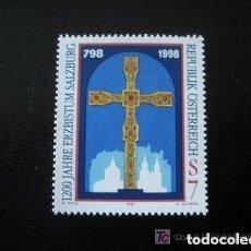 Sellos: AUSTRIA 1998 IVERT 2079 *** 1200º ANIVERSARIO DEL ARCHIVO DE SALZBURGO. Lote 157007450