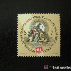 Sellos: AUSTRIA 1998 IVERT 2083 *** 175º ANIVERSARIO DE FERDINANDEUM - MUSEO REGIONAL. Lote 157007578