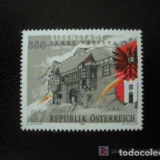 Sellos: AUSTRIA 1998 IVERT 2096 *** 350º ANIVERSARIO DE LA VILLA DE EISENSTADT. Lote 157008194