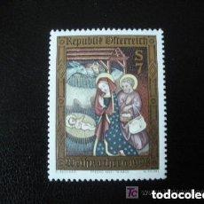 Sellos: AUSTRIA 1998 YVERT 2100 *** NAVIDAD - LA NATIVIDAD - PINTURA RELIGIOSA. Lote 157008262