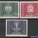 Sellos: AUSTRIA. 1949 YVERT Nº 779 / 781 /**/ . Lote 163522462