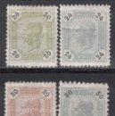 Sellos: AUSTRIA. 1891 YVERT Nº 61 / 64, /*/ . Lote 163526890