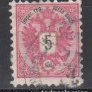 Sellos: AUSTRIA - LEVANTE, 1883-86 YVERT Nº 10. Lote 165257890