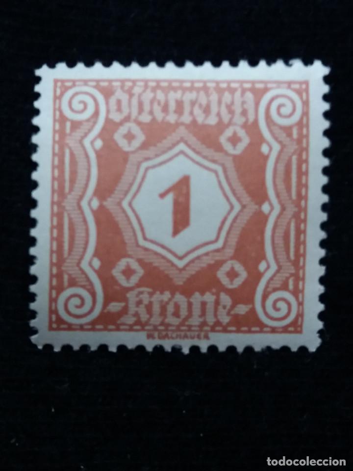 AUSTRIA, OSTERREICH, 1 KRONE, AÑO 1923. NUEVO (Sellos - Extranjero - Europa - Austria)